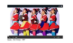 """Girlz - 미쳐지다 (Go Crazy) MV"" by bbykms ❤ liked on Polyvore featuring art"