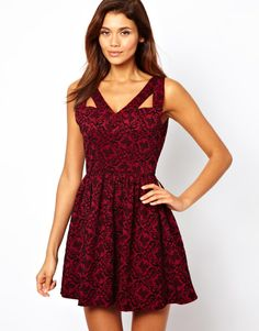 Elise Ryan Embossed Skater Dress just purchased hope it's as cute in person !
