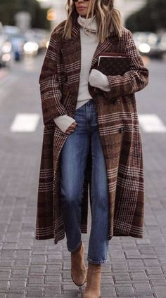 45 Fabulous Winter Outfits You Must Have / 02 - Frauen Mode - Outfits Mode Outfits, Casual Outfits, Fashion Outfits, Fashion Clothes, Fashion Boots, Outfits 2016, Jeans Fashion, Fashion Sandals, Casual Boots