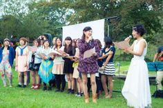 Garden wedding / ガーデンウェディング / ガーデン結婚式 / 野外 結婚式 / Camp wedding /キャンプウェディング/野外フェス / フェス / http://www.crazywedding.jp/smile/ crazy wedding / ウェディング / 結婚式 / オリジナルウェディング/ オーダーメイド結婚式