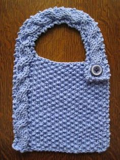 76 Best Knit♡Baby♡Bibs images | Baby bibs, Baby knitting ...