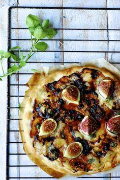 vijgen - gorgonzola pizza