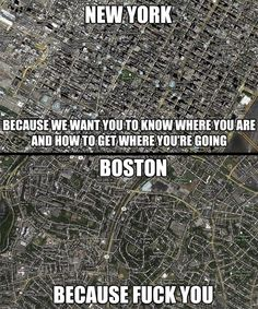 boston new york