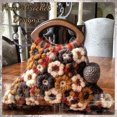 Fall flowers Handbag