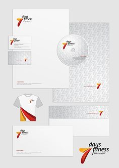 Set of corporate identities (Arabic + English) on Branding Served - Nice use of grey.