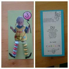 Einladung Kindergeburtstag - Pippi Langstrumpf