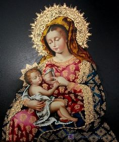 Peruvian Virgen de la Leche