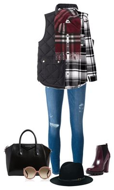 Untitled #3183 by elia72 on Polyvore featuring polyvore, fashion, style, J.Crew, Frame, Charles David, Givenchy, Burberry, Chloé, BeckSöndergaard and clothing #elia72
