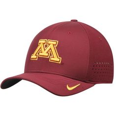 meet e27d3 be919 Minnesota Golden Gophers Nike Sideline Vapor Coaches Performance Flex Hat -  Maroon
