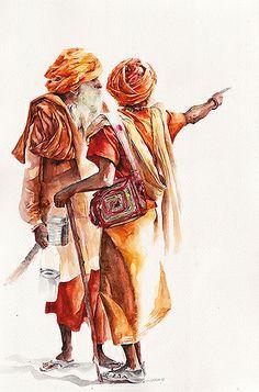 Magical watercolor architecture with sunga park - impakter Indian Folk Art, Indian Artist, Korean Artist, Watercolor Portraits, Watercolor Paintings, Watercolour, Abstract Paintings, Oil Paintings, Composition Art