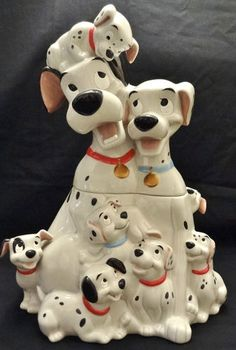 101 Dalmations Limited Edition of 350 Cookie Jar by Disney Auctions