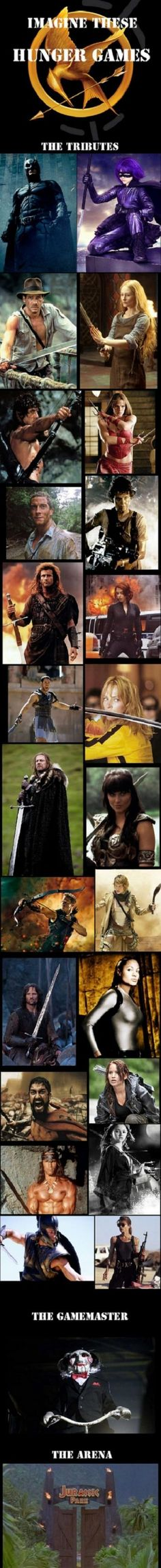 Hunger Games Perfected - Sean Bean is screwed.
