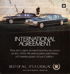 1984 Cadillac Fleetwood Seventy-Five Limousines Carros Suv, Cadillac Fleetwood, Retro Advertising, Truck Design, American Muscle Cars, Classic Cars, Classic Auto, Car Photos, Vintage Cars