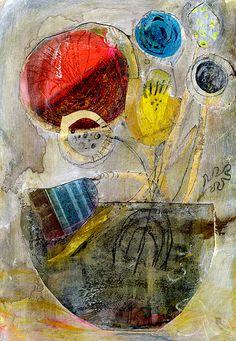 Andrea Daquino, Red Yellow Blue Still Life