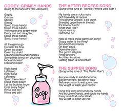 Kid Scoop: Hand Washing Songs