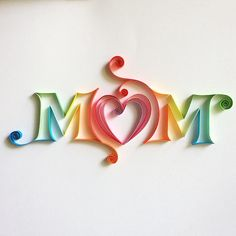 To the most amazing lady in our life...for my Mom and yours Happy Mother's Day MM #typespire