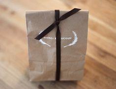 Una Mosca en la Luna: Packaging hecho en casa {papel craft}