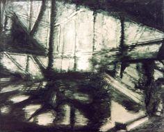 Pomeriggio Insolito 1989 oil on canvas  cm. 130x160