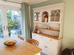 Laura Ashley Oriental Garden, Garden Features, Colour Schemes, Cosy, Kitchen Ideas, Dresser, China, Rustic, Living Room