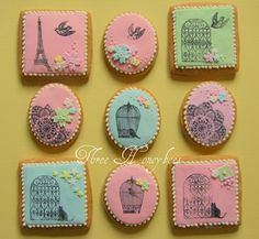 Stamped cookies @Alicia Williamson do you know how to do these? Super cute!