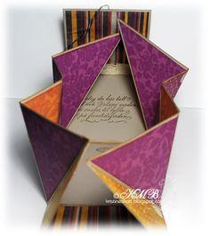 inkido: Tutorial ~ Folded Handbag Card