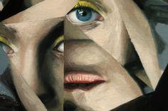 Untitled by Jeremy Olson (Brooklyn) Contrast Art, Gcse Art, Saatchi Art, Brooklyn, Original Artwork, Faces, Portrait, Artist, Fictional Characters
