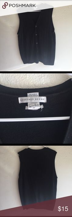 Sweater vest Very great condition , hardly used sweater vest. Makes a super put together look. Great for family events or church. Can be worn as a causal look too Genoffrey Beene  Suits & Blazers Vests