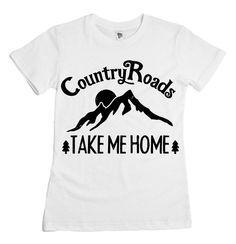 Country Roads tee || Dear Cub