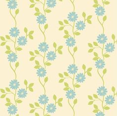 Estampado de flores. vid retro patrón decorativo