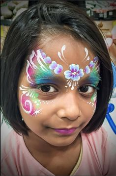 Cute face painting!