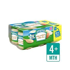 Heinz Egg Custard With Rice Jar 6 x Pack of 4 -- See this great product. Baby Food 8 Months, Baby Food By Age, Baby Food Jar Crafts, Baby Food Jars, Heinz Baby Food, Baby Food For Constipation, Baby Food Mill, Baby Food Schedule, Baby Food Containers