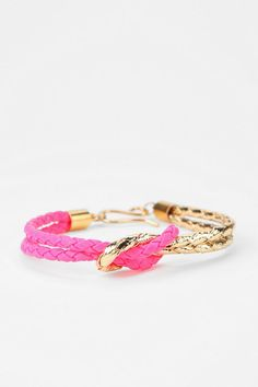 a.v. max Braided Knot Bracelet  #UrbanOutfitters