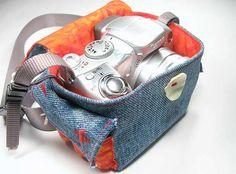 housse appareil photo jean Plus de 10 idées pour recycler du denim