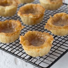 Old Fashioned Butter Tarts | Art and the Kitchen