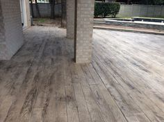 STAMPED CONCRETE PLANK PAVERS - Google Search