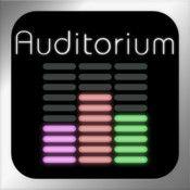 Auditorium (iOS) - Ein Puzzlespiel, in dem ein Klangstrahl erschaffen werden muss und dabei durch Level navigiert werden muss oder einfach nur fließen soll.