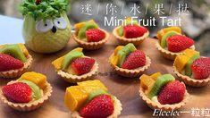 Mini Fruit Tarts, Mini Cupcakes, Cheesecake, Muffin, Baking, Breakfast, Youtube, Desserts, How To Make