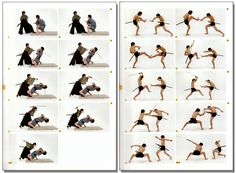sword fight reference | ... - Real Action Pose Collection Vol. 2 - Sword Fighting - Anime Books
