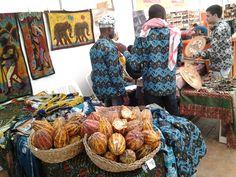 #Altrocioccolato 2013 - I ragazzi della Costa d'Avorio del progetto di turismo e di Chocodivo