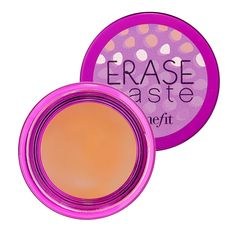Benefit Cosmetics Erase Paste Brightening Concealer oz from Sephora. Shop more products from Sephora on Wanelo. Benefit Cosmetics, Benefit Makeup, Makeup Cosmetics, Best Concealer, Under Eye Concealer, Cream Concealer, Concealer Brush, Tips And Tricks, Concealer