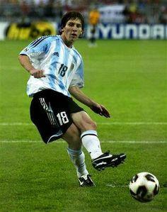 Leonel Messi of Argentina in 2012.