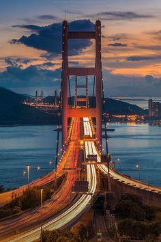 Tsing Ma Bridge - Hong Kong