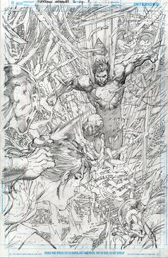 Superman Unchained #6 p.7 by Jim Lee *