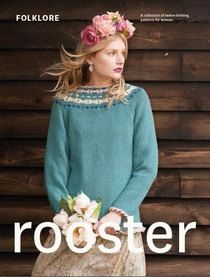 Knitting Pattern Book - Folklore knitting pattern book by Rooster - ladies clothes and accessories - knitting patterns by Homespunwonders on Etsy