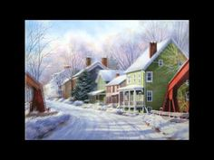 "Watercolor step-by-step ""Montgomery Bridge in Winter"" by Lana Privitera"
