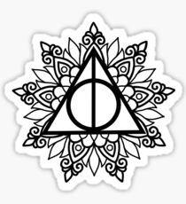 Heiligtümer des Todes ♡ Mandala Sticker