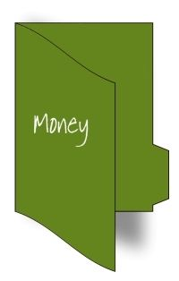 Money File Folder Games