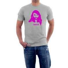 Conchita Wurst T-shirt . Eurovision Song Contest  ESC by SillyTees