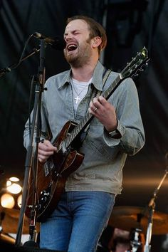 Kings of Leon live at The Governors Ball Music Festival 2013