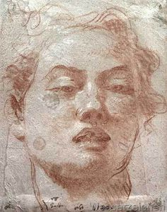 Giovanni Battista Tiepolo - Youthful Head